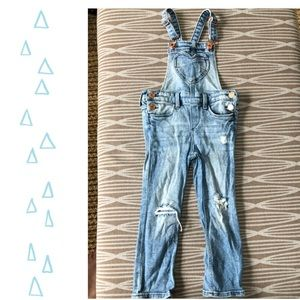 Adorable H&M heart overalls (3-4 yr old )